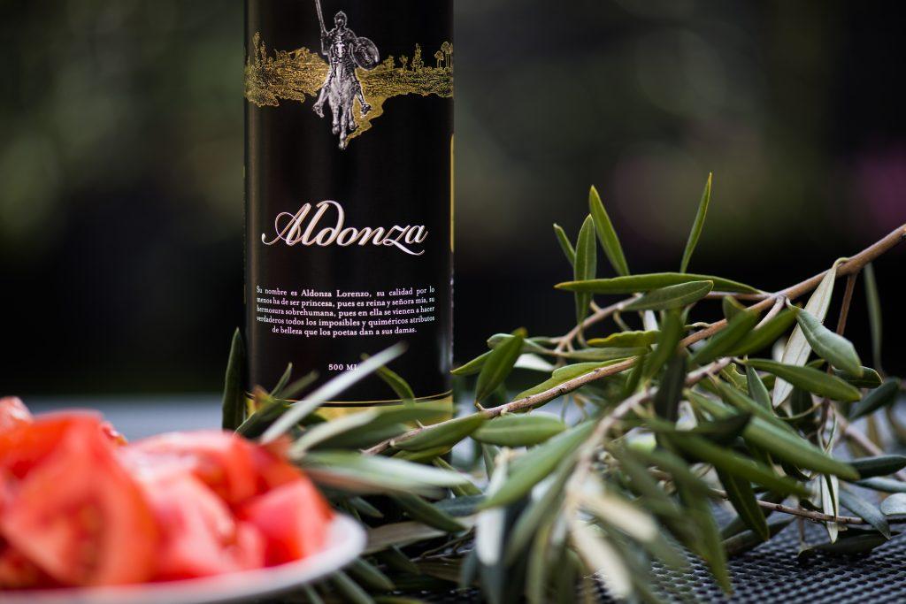 aceite de oliva tomate aldonza