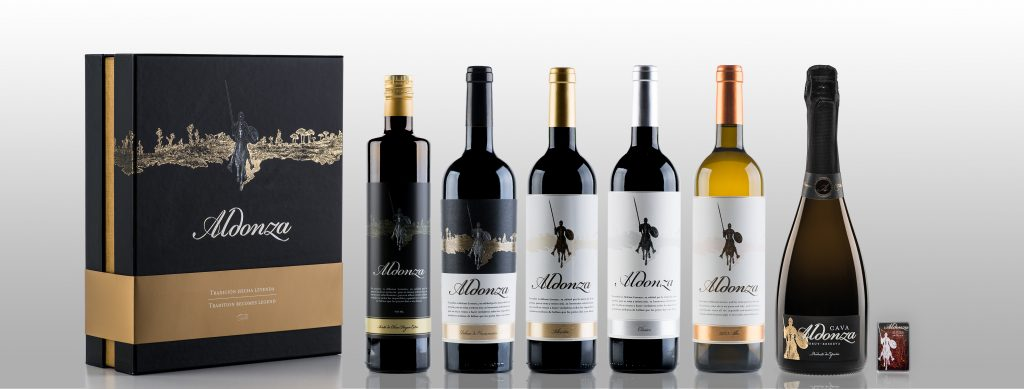 vino aceite de oliva azafrán aldonza