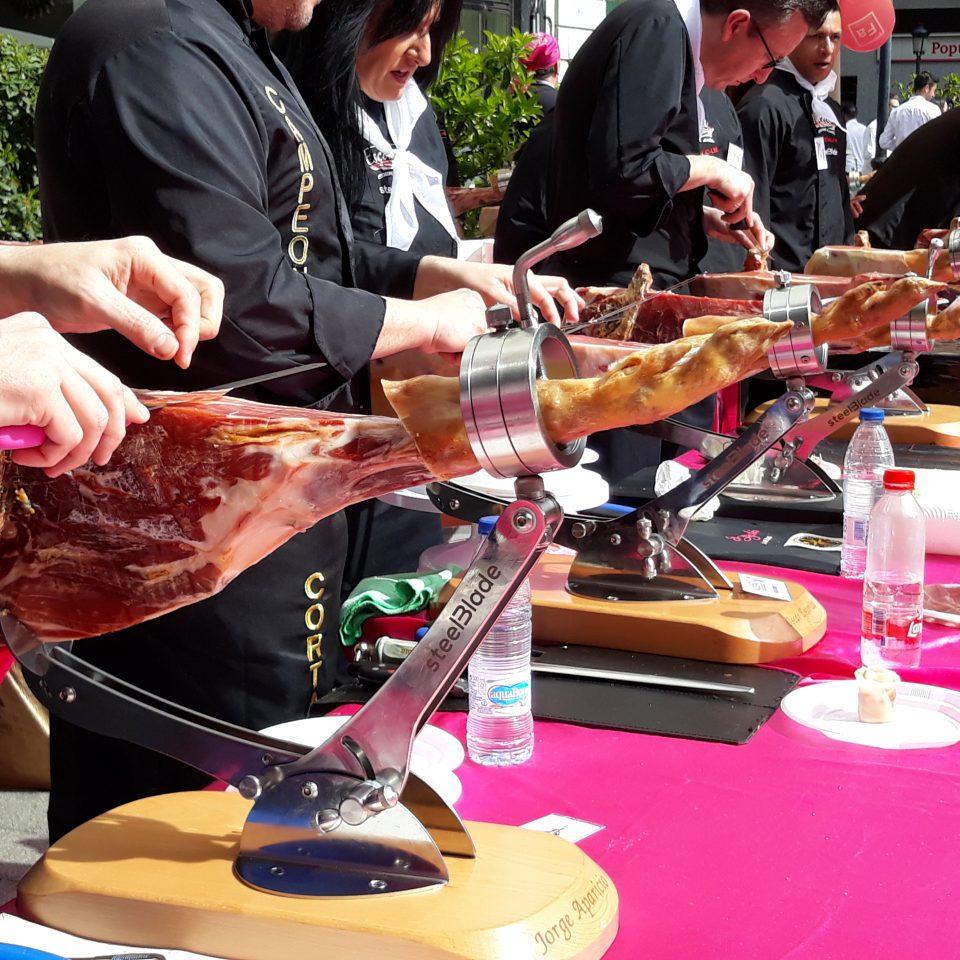 cortadores de jamon