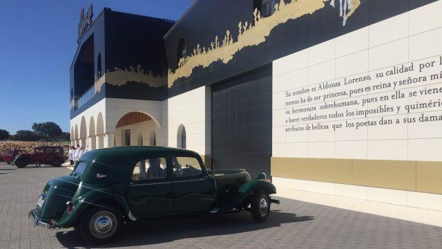 vehículos clásicos e historicos bodegas aldonza