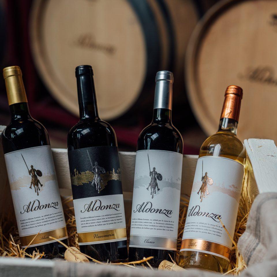 Los vinos Aldonza están disponibles en los supermecados HEB de Texas