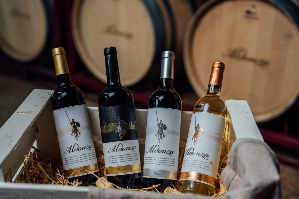 aldonza spanish wines in texas supermarket HEB